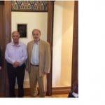 Συνάντηση με τον Πρόεδρο της Ένωσης Κεντρώων Βασίλη Λεβέντη είχαν ο Δήμαρχος Δωρίδος και ο Αντιδήμαρχος Αντωνόπουλος Κωνσταντίνος, για τις επιπτώσεις από την κατασκευή της τεχνητής λίμνης του Μόρνου και τη διεκδικούμενη καταβολή αντισταθμιστικού τιμήματος.